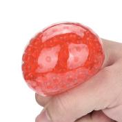Squishy Mesh Ball Stress Ball Toy, Mumustar Fidget Stress Ball Toys Stress Relief Hand Wrist Exercise Bounce Ball Toy Colour Random