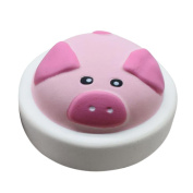Cute Pig Scented Squishy Toys, HOMEBABY 10cm Slow Rising Squeeze Toys Cream Scented Decompression Toys Fun Toy Gift Kids Soft Toy Jumbo Collection Easter Gift Phone Strap