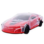 erthome Random 3D Music Lighting Super Car Automatic Steering Flashing Wheel Sound Racing Toy Gift