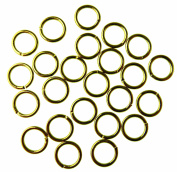 Bead Cafe Jump Rings, Gold