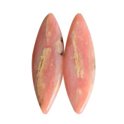 Marquise Shape Natural Pink Opal Pair Gemstone, Matched Earring Pair, Loose Semi Precious Gemstone, AG-6767
