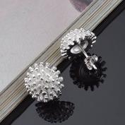 Lanaso Fireworks Earrings Studs Earrings Ear Stud Earring Silver Sterling Earrings Plated Jewellery Claps