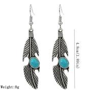 Lanaso Retro Bohemia Leaf Earrings Dangle Earrings Hook Earrings Pendant Earrings Stud Women Gifts