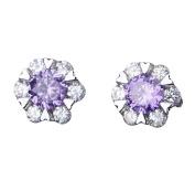 Lanaso Christmas Snowflake Earrings Diamond stud earrings Jewellery Claps Jewellery Earring Sterling Earrings Stud Clip Christmas Gifts