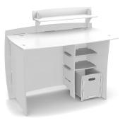 Legare 110cm . Classic Kids Desk with File Cart - White