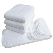 Baby Nappy Cover, Huhua Newborn Adjustable Reusable Washable Waterproof Nappy