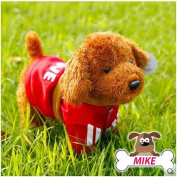 Robot Dog Children Electric Dog Toys Can Sing Music Intelligent Remote Control Toy Red