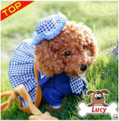 Robot Dog Children Electric Dog Toys Can Sing Music Intelligent Remote Control Toy Blue