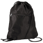 Quadra Men's QD071BLAC Senior Gym Sack, Black, One Size
