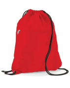 Quadra Senior Gymsac Colour=Classic Red Size=O/S