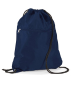 Quadra Senior Gymsac Colour=French Navy Size=O/S