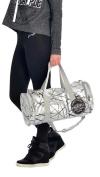PINEAPPLE DANCEWEAR Studio Dancer Barrel Bag Holdall Gym Dance Gymastics Silver