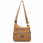 Outreo Small Messenger Bag Women Cross Body Bag Waterproof Casual Shoulder Bag Lightweight Sport Travel Satchel for Ladies