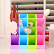 4Pcs/Set Storage Box Desk Sundries Stationery Tableware Organizer Cosmetics Makeup Container Bin Kitchen Tools