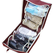 Portable Shoes Travel Storage Bag Organizer Tote Luggage Carry Pouch Holder
