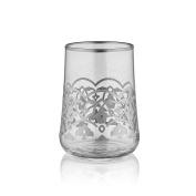 Aheste Coffee Side Glass - Tulip - Platinum