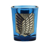 Attack On Titan Survey Corps Square Shot Glass