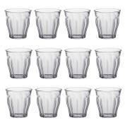 Duralex Picardie Water / Juice Traditional Tumbler Glasses - 130ml - Pack of 12