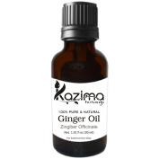 KAZIMA Ginger Essential Oil (30ml) 100% Pure Natural & Undiluted Oil
