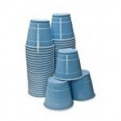 Hanna K Plastic Cups, , 470ml, Light Blue, 50 Ct