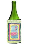 Flamingo Wine Bottle Beverage Insulator Beverage Insulator Hugger