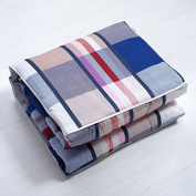 Air-conditioning is pillow quilt two use a large pure cotton multi-fold cushion by a car office afternoon nap small pillow ,40X40, JP