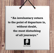 Iain Sinclair Author Quote Ceramic Wall Hanging Plaque TILE Home Decor Gift idea