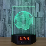 Lh & Fh Football Calendar Night Light 3D Colourful Remote Touch Creative Gift Lamp