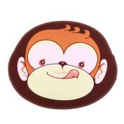 Demiawaking Monkey Cute Cartoon Child's Mat Living Room Bedroom Door Carpet Floor Rug