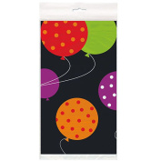 Plastic Birthday Cheer Table Cover, 210cm x 140cm