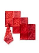 Garnier-Thiebaut Towel, Cotton, Dark Red, 54 x 54 cm