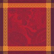 Garnier-Thiebaut 29196 Isaphire Cotton Towel Fire 54 x 54 cm