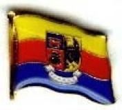 North Frisia Flag Lapel Pin