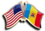 Moldova Friendship Pin