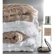 Blanc des Vosges Pearl Princess Bath Towel Cotton 110 x 55 cm