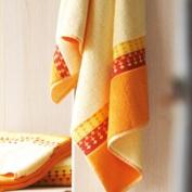 Blanc des Vosges Paprika Venice Bath Towel Cotton 110 cm