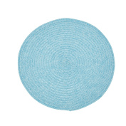 Urban Round 38cm in Diameter Two Tone Woven Placemat Wipes Clean