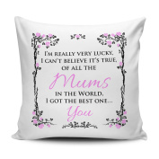 Of All The Mums In The World I Got The Best One... You Cushion Cover