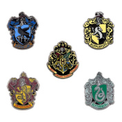 Universal Studios Harry Potter Hogwarts Miniature Crest Pin Set New With Card