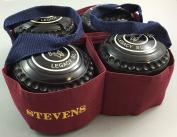 Stevens 4 Bowl Carrier Crown Green Short Mat Lawn Bowls
