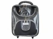 Aero ComfitPro CX Ultraglide Lawn Bowling Trolley Bag Silver