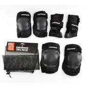 Venom Skateboard/Skating Triple Knee/Elbow/Wrist Pad Set - Junior