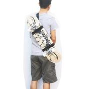 One Skateboard Shouder Strap Shoulder Carrier Skateboard Carry Strap --Fit all Board !