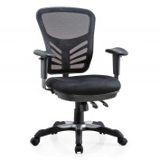 Poly and Bark Brighton Office Chair in Black
