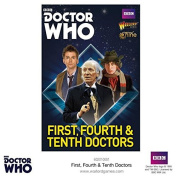 Warlord Games, The First, Fourth & Tenth Doctors, Dr Who Wargaming Miniatures