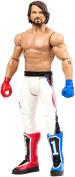 WWE Basic Series Wrestlemania 34 Mattel Action Figure - AJ Styles - Exclusive Attire - Red Glove Blue Glove