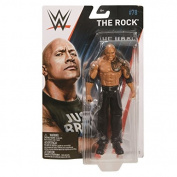 WWE Basic Series 78 Mattel Wrestling Action Figure - The Rock - The Peoples Champion - The Great One