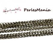 Pax 10 m Bronze Chain Necklaces, DIY Making s1112399