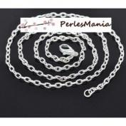 Pax 12 Necklaces Necklaces 50.9 Cm Bright Silver 4.2 2.8 mm Mesh Chain s114098