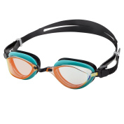 Barracuda Swim Goggle-Mirror Lens Anti-fog UV Protection Anti-glare Easy adjusting Quick Fit Comfortable No leaking Competition for Adults Men Women #72710-N